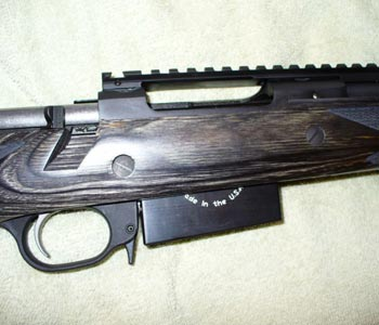 The NEW AI 308 Sled installed in Ruger Scout